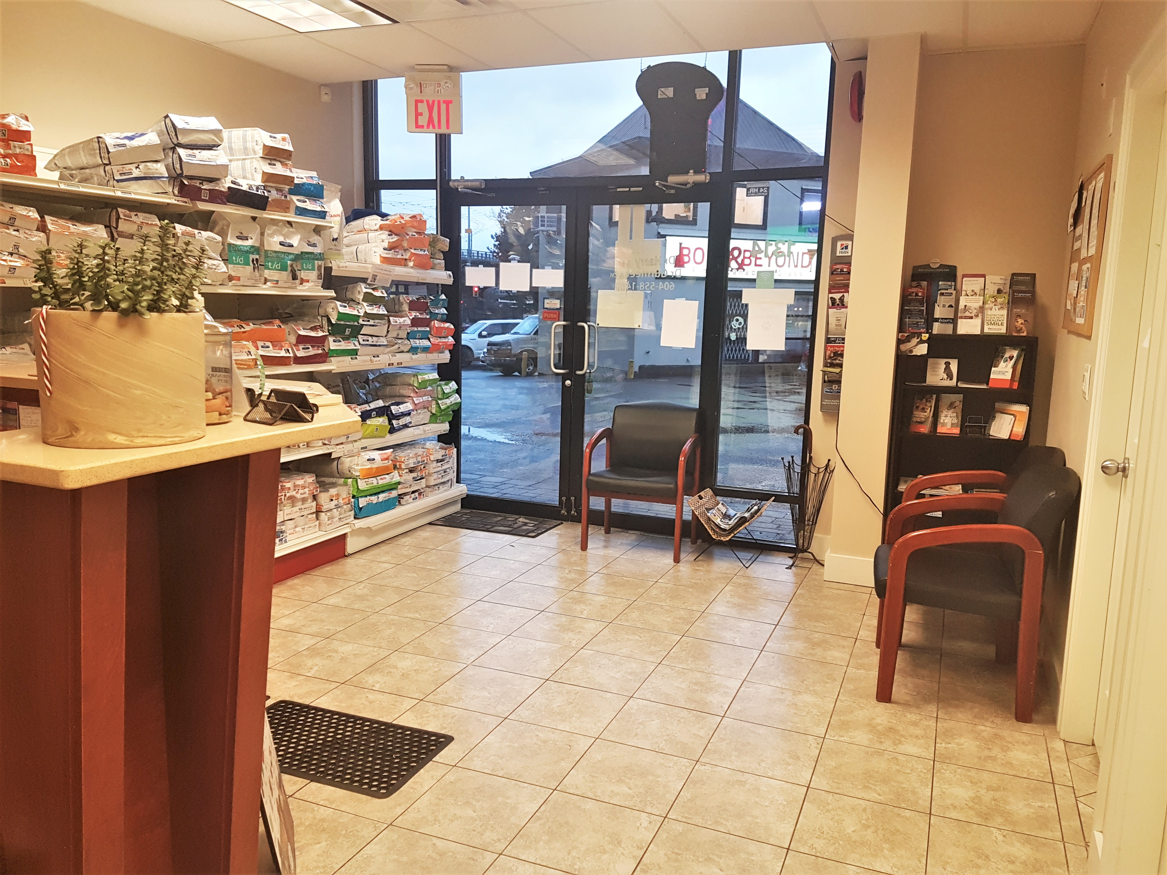 Waiting Area and Medical Prescription Diet